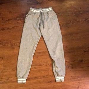 Gray joggers